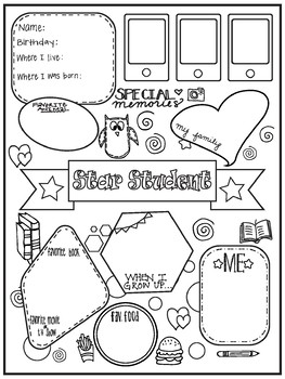 star student poster by team gibson teachers pay teachers