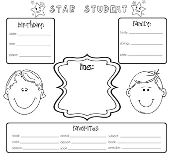Star Student Poster For Kids