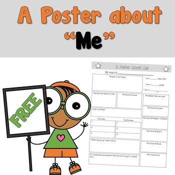 Free Star Student Poster