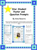 Star Student Poster with Question Prompts