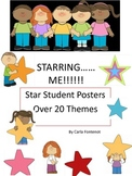 Star Student Posters - Multiple Themes