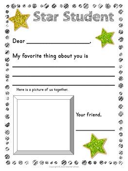 Star Student Printable