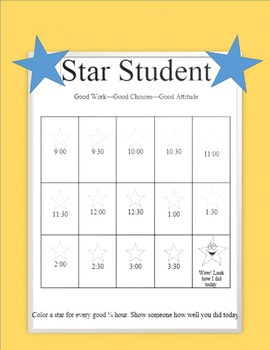 Star Student--Behavior Reinforcers for Teachers and Therapists