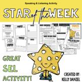 Star of the Week Printables