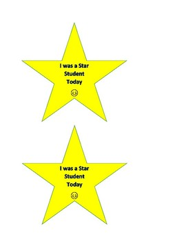 Star Student Reward