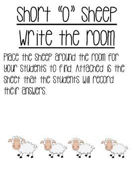 Write the Room Short o