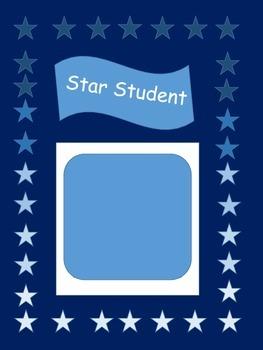 Star Student Sign