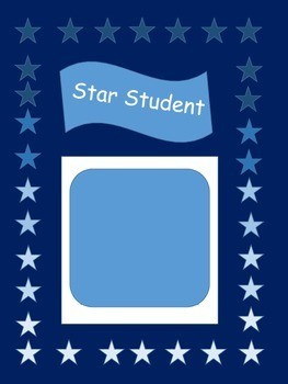 Star Student Sign
