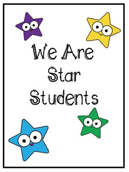 Star Student/ Student of the Week Book