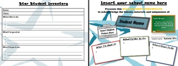 Star Student Template