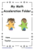 Star Student Themed PDSA Accelerated Folder File 3rd Grade