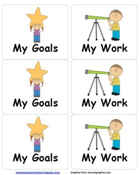 Star Student Themed PDSA Accelerated Folder File 4th Grade