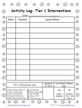 Star Student Themed PDSA Accelerated Folder File 5th Grade