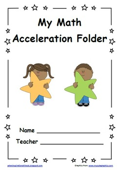 Star Student Themed PDSA Accelerated Folder File 5th Grade