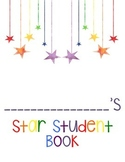 Star Student book template