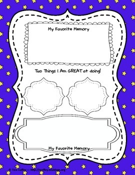 Star Student of the Week Materials