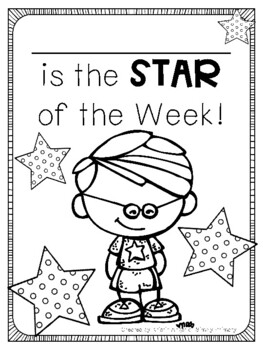 Star Student of the Week Pack