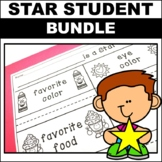 Star Student of the Week Poster Book  Letter Home Mystery Bag