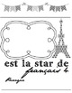 Star Student/Student of the Week Posters in French