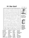 Star Stuff Word Search Astronomy