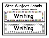 Star Subject Labels