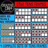 Star Tens Frames {Creative Clips Digital Clipart}