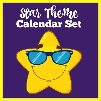 Star Theme Room Decor | Star Themed Decorations | Calendar