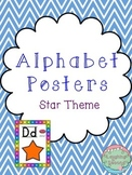 Star Themed Alphabet Posters
