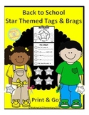 Star Themed Back to School Getting to Know You
