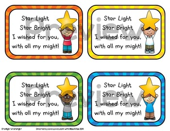 Star Themed -Back to School Gift Tags