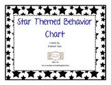 Star Themed Behavior Chart Discipline System