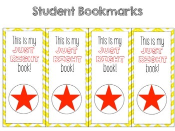 Star Themed Book Basket Labels Bundle