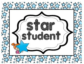 Star Themed Clip Chart