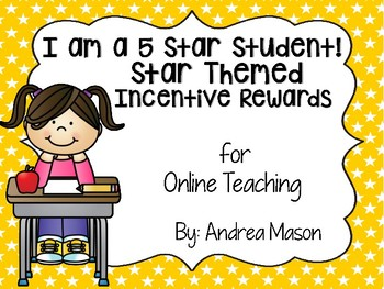 Star Themed Incentive Rewards for Online Teaching (VIPKid)