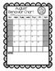 Star Themed Monthly Behavior Calendars (PDF)