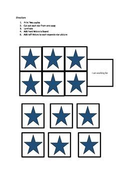 autism Star Token Board