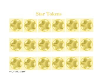 Star Tokens for Homework Reward Program