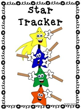 Star Tracker FREEBIE, Student Self-Monitoring Learning Goal/Rubric Tool
