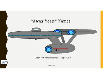 Star Trek Away Teams (Groups)