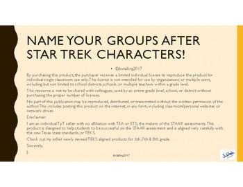 Star Trek Away Teams (Groups)