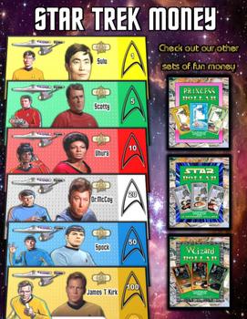 Star Trek Fun Money Play Set