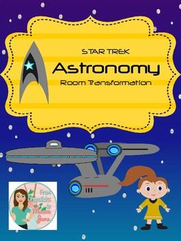 Star Trek Room Transformation - Astronomy