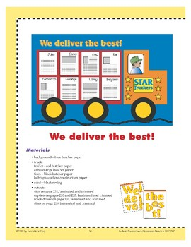 Star Truckers--We Deliver the Best! (Bulletin Board)