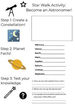 Star Walk Activity Guide