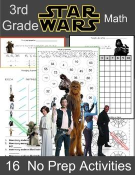 3rd Grade Math: Multiplication: Star Wars 3rd Grade Math Activities