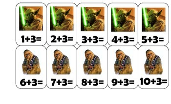 Star Wars Addition Card Game