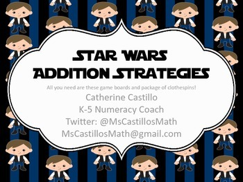 Star Wars Addition Strategies Making Ten Doubles Fact Practice Stations