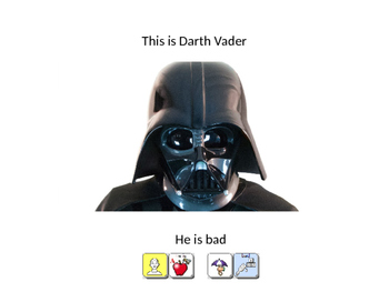 Star Wars Adjectives AAC / Speech Therapy / PRC / UNITY