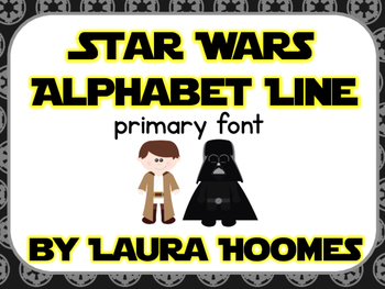 Star Wars Alphabet Line