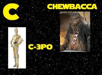 Star Wars Alphabet Signs